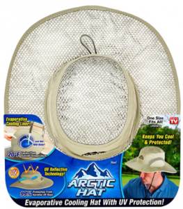 Arctic Evaporative Cooling Hat with UV Protection
