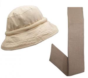 Blubandoo Water Evaporating Cooling Crystal Unisex Bucket Hat