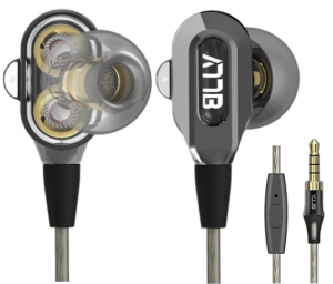 GranVela VJJB V1 Dual Driver High Definition Earbuds with Noise Isolation