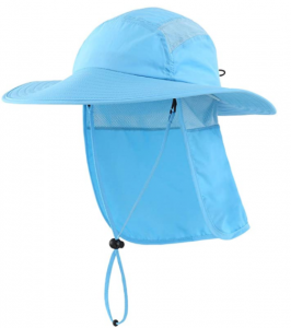 Home Prefer Men's Sun Protection Hat with Neck Flap