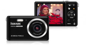 ISHARE Digital Camera for Photography with 2.8 inch LCD