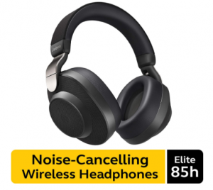 Jabra Elite 85H Wireless Noise Canceling Bluetooth over Ear Headphones