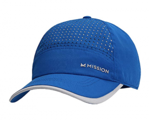 Mission Max Cooling Laser Cut Performance Unisex Hat