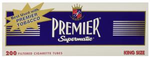 Premier Full Flavor King Size Cigarettes Tubes