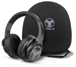 Treblab Z2 Bluetooth Over-Ear Headphones with Mic