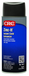 CRC 18412 Zinc-It Instant Cold Galvanize Zinc Rich Galvanizing Viscous Liquid