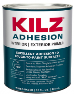 KILZ Adhesion High Bonding Interior/Exterior Latex Primer