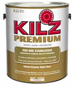 KILZ Premium Latex Primer/Sealer High-Hide Stain Blocking Interior/Exterior