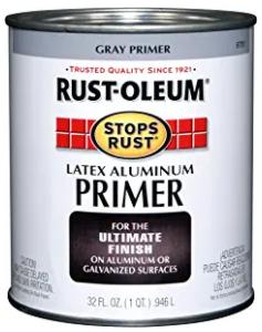 Rust-Oleum 8781502 Gray Alum Primer Quart