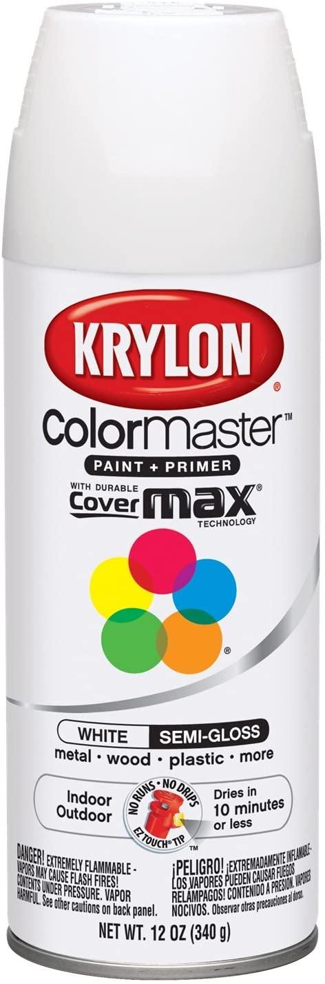 Krylon GIDDS-800143 Paint, Semi Gloss Spray Paint