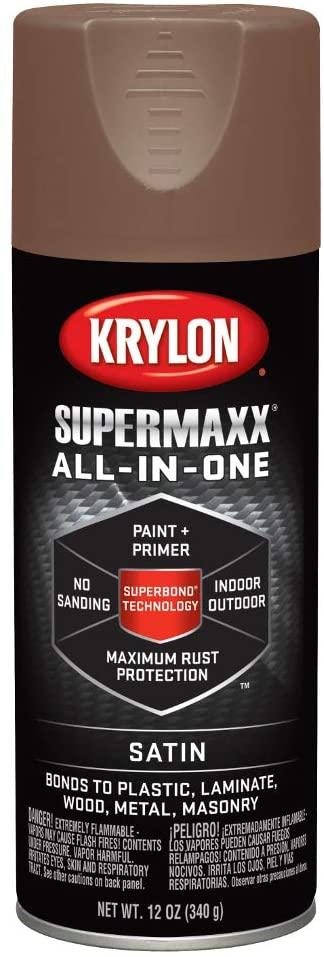 Krylon K08976000 SUPERMAXX Spray Paint, Best Paint for Rust Protection