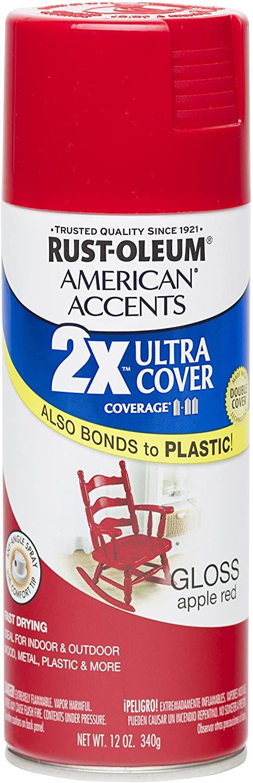Rust-Oleum 280716 Spray Paint, Spray Paint for Glossy Finish