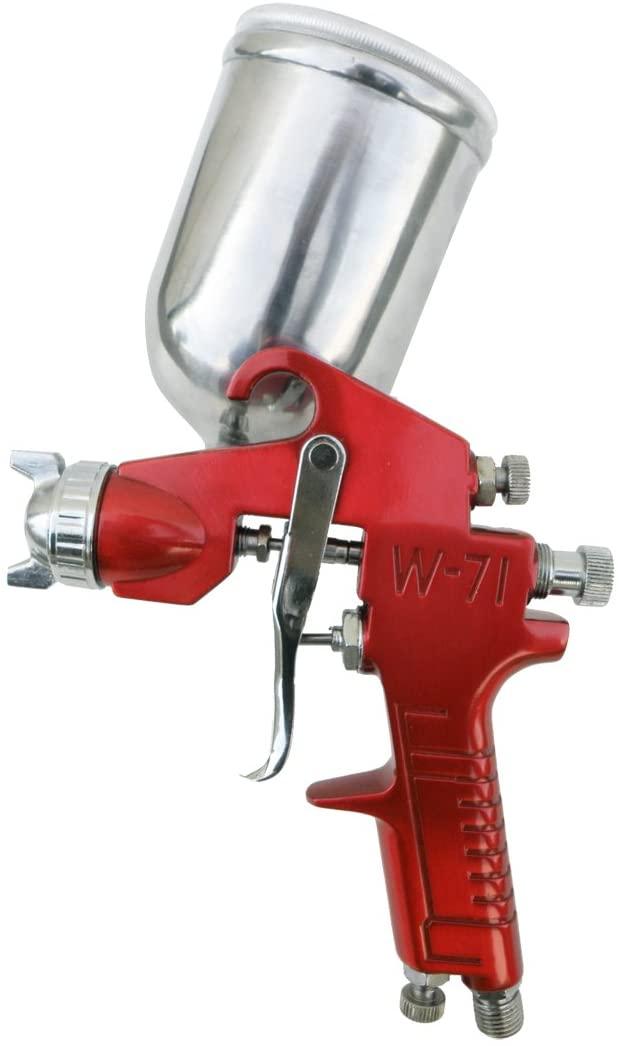 SPRAYIT SP-352 Gravity Feed Gun, Spray Gun with Aluminum Swivel Cup