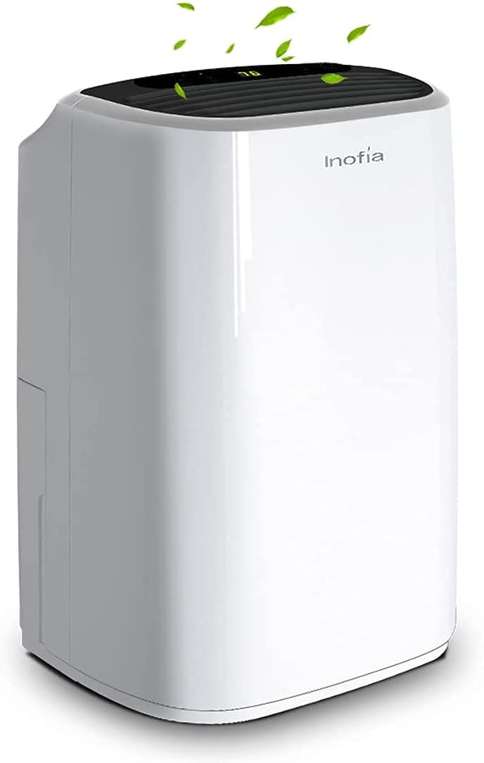 Inofia 30 Pints Dehumidifiers, Intelligent Humidity Control