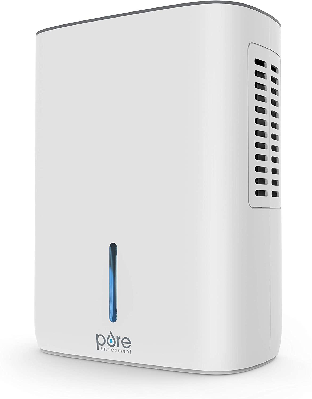 Pure Enrichment Deluxe Dehumidifier, small dehumidifier for bathroom