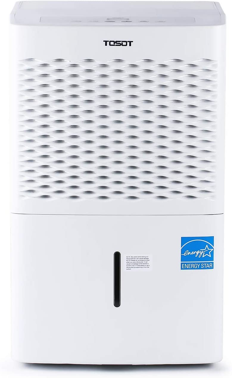 TOSOT 20 Pint 1,500 Sq Ft Dehumidifier, Quiet Dehumidifier for Bathroom