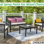 best spray paint for wood chairs